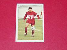 75 F. DI NALLO OLYMPIQUE LYON OL GERLAND AGEDUCATIFS FOOTBALL 1972-1973 PANINI