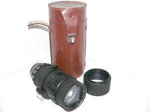 ENNA Nikon F Mount 1:4, 85~250mm Tele Zoom Lens w/Hood & Case~Light Dust, Fungus