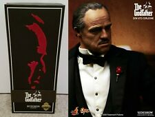 Godfather MIB Exclusive Hot Toys Sideshow Vito Corleone Figure 1/6 Brando MMS91