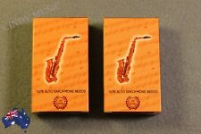 2PCS Alto saxophone reeds bE 10 piece of packaging
