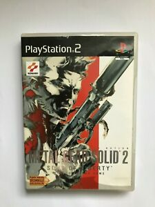 Metal Gear Solid 2 Sons of Liberty Playstation 2 PS2 Sony Pal FR - 2001