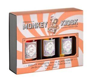 Monkey 47 179,93€/l Monkey Kiosk Gin Tasting Set 3 x 0,05 Liter Schwarzwald Gin
