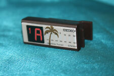 Sale! Seiko Clip-On Electronic Ukulele Tuner, Bright Display, Brown, Stx5Uc