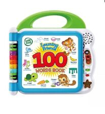 Leap Frog Learning Friends 100 Words Book Educational Toy BNIB