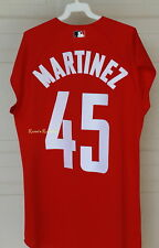 a2213a18d PEDRO MARTINEZ 2000 ALL STAR GAME AUTHENTIC MAJESTIC SLEEVELESS JERSEY  BRAVES L