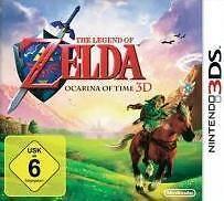 Nintendo 3DS LEGEND OF ZELDA OCARINA OF TIME 3D DEUTSCH 3 DS Neuwertig