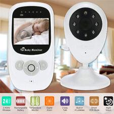 2.4GHz Funk Drahtlos Babyphone mit Kamera Video Monitor Nachtlicht Babyviewer