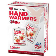 Yaktrax Air Activated 8 Hour Hand Warmers - 10 Pairs