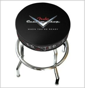 "NEW - Fender 30"" Custom Shop Pinstripe Barstool - 099-0230-010"