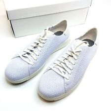 Cole Haan Stichlite Mesh White Low Top Fashion Sneaker Shoes Mens 11.5 NEW