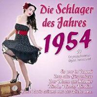 DIE SCHLAGER DES JAHRES 1954 2 CD NEU