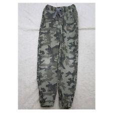 Camouflage Dress Pants Boys Size Medium 8 Wonder Nation Green Cotton Spandex Z24