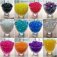 50 Packs Water Beads Soil Bio Gel Ball Crystal Wedding Centrepiece Vase Filler