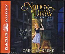 Nancy Drew Diaries: The Ghost of the Grey Fox Inn 13 by Carolyn Keene (2017, CD,