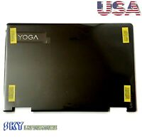New Lenovo Yoga 710-14IKB 710-14ISK Back Cover LCD Rear Lid AM1JH000600 Black