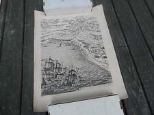 4 JACQUES CALLOT FEC. 19TH CENTURY RESTRIKE MILITARY ETCHINGS/PRINTS FAIR INTNTL