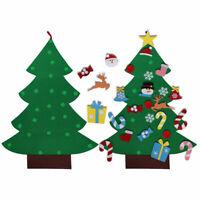 Christmas Tree Felt Set with Ornaments Elk Candy DIY Kids Xmas Gift Home Decor