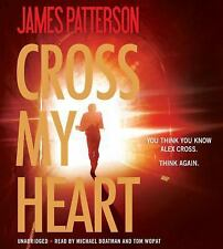 CROSS MY HEART (Alex Cross) unabridged audio book on CD by JAMES PATTERSON