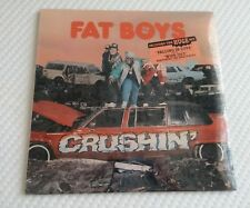 Fat Boys Crushin' Beach Boys Sealed Falling in Love & Wipe Out LP Record 1987