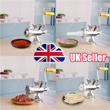 Heavy Duty Meat Mincer Grinder Manual Hand Operated Kitchen Beef Sausage Maker P