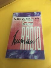 HUMAN RADIO ME AND ELVIS FACTORY SEALED CASSETTE SINGLE C17