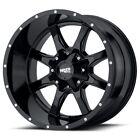18 Inch Gloss Black Wheels Rims Chevy Silverado 1500 Tahoe Truck Suburban 6 Lug