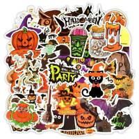 50PC Halloween Series DIY Stickers Skateboard Laptop Car Luggage Fun bara