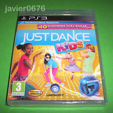 JUST DANCE KIDS NUEVO Y PRECINTADO PAL ESPAÑA PLAYSTATION 3 PS3