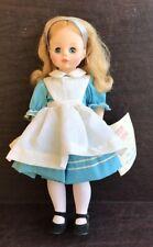 "Vintage Madame Alexander 12.5"" Alice In Wonderland Doll"