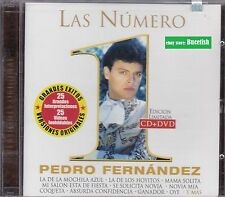 Pedro Fernandez Las Numero 1 CD+DVD New Nuevo sealed