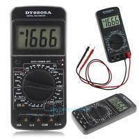 Digital LCD Ohmmeter Multimeter Volt AC DC Tester Meter Voltmeter Ammeter Tools
