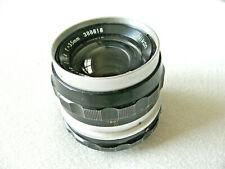 Vintage Nikon Nikkor-s Auto 1:2.8 f=35mm lens 388818
