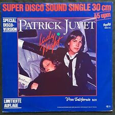 "Patrick Juvet 12"" Lady Night (Special Disco-Version) - LTD - Germany (EX/M)"
