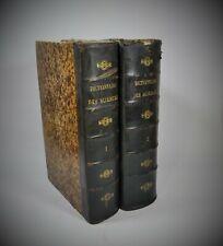 Dictionnaire Sciences Théoriques & Appliquées Privat-Deschanel Focillon 1883 In4