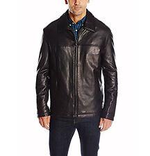 DOCKERS Men's Smooth LAMB Leather Jacket