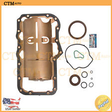 Oil Pan Gasket Set Repair For 02-09 Dodge Jeep Mitsubishi 3.7L V6 VIN K Lower