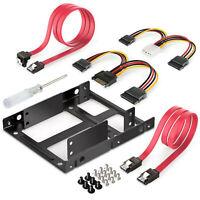 3.5in to SSD / 2.5-Inch Internal Hard Drive Mounting Bracket Rail Adapter kit