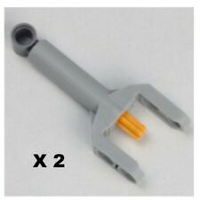 Lego Technic, Linear Actuator Mini - 92693c01 - Light Bluish Gray - NEUF - X2