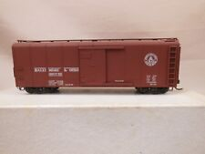 HO SCALE BRASS TID TRAINS BALTIMORE & OHIO WAGON-TOP BOX CAR PAINTED