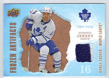 08-09 UD Artifacts Frozen Artifacts Darcy Tucker Game Used Jersey #FADT Mint