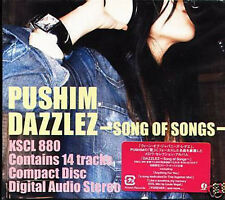 PUSHIM - DAZZLEZ: Song of Songs - Japan CD - NEW J-POP