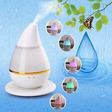 7color LED USB Essential Oil Ultrasonic Air Humidifier Aroma Therapy Diffuser S0