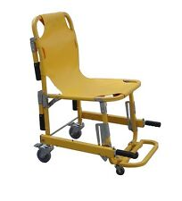 New MedSource MS-90044-KS Patient Transport Stair Chair with 4 Wheels 6 Handles