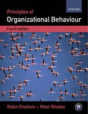 Principles of Organizational Behaviour by Peter Rhodes, Robin Fincham (Paperbac…