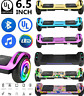 """6.5"""" Electric Hoverboard Bluetooth Speaker LED Self Balancing Scooter UL NO Bag"""