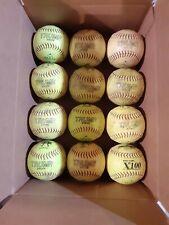 Dozen Slowpitch Softballs 52/300