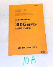 KOMATSU SHOP MANUAL 3D95 SERIES DIESEL ENGINES SEBE61470100 S10A