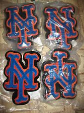 (4) New York Mets Logo Forever Collectible Pillows ? Game Giveaway 9 X 13 psa