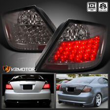 04-10 Scion tC JDM Smoked Tint LED Tail Lights Brake Lamp Pair