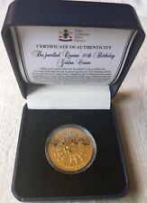 2006 Tristan Da Cuhna £5 COA Queens 80th Birthday 3 Stones Silver Proof Coin No1